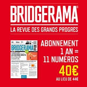 Abonnement Bridgerama - 1 an