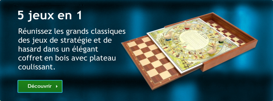 Bannière Droite - 5 jeux en 1 classiques