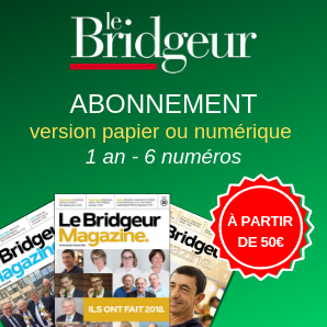 Abonnement Le Bridgeur - 1 an