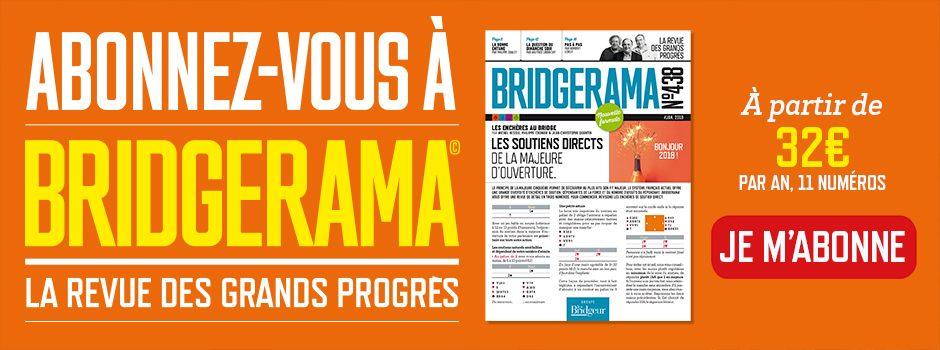 Bannière Bridgerama nouvelle formule