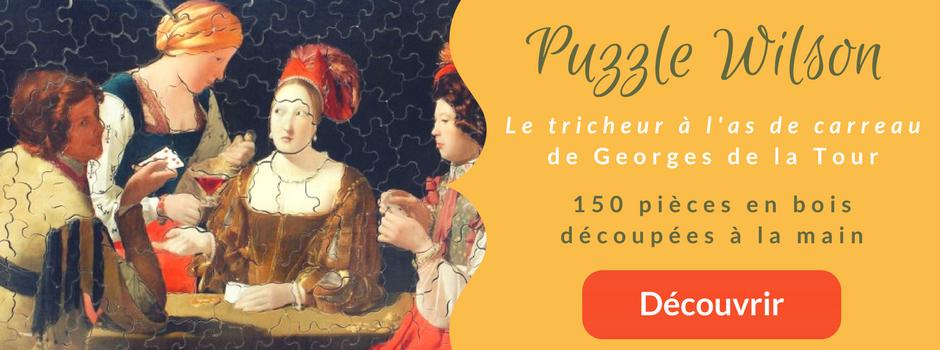 Bannière Puzzle Wilson - Georges de la tour