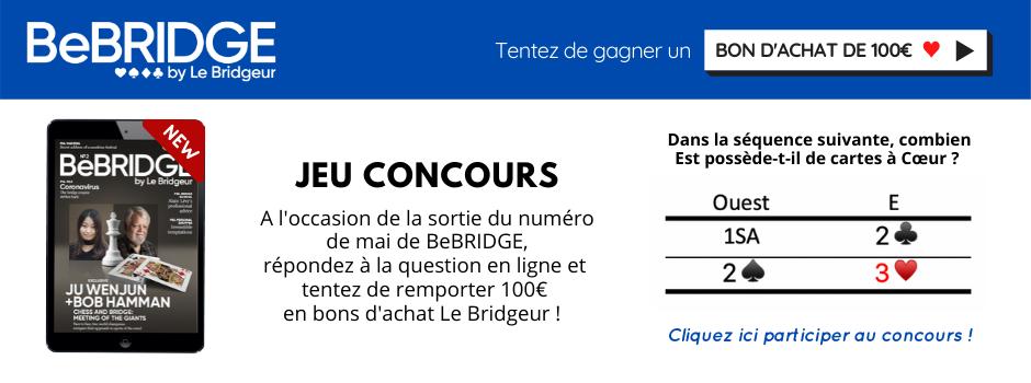 Jeu concours BeBRIDGE - 100€ d'achats