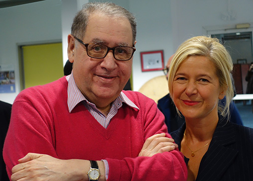 Paul Chemla et Karine Meyer-Naudan