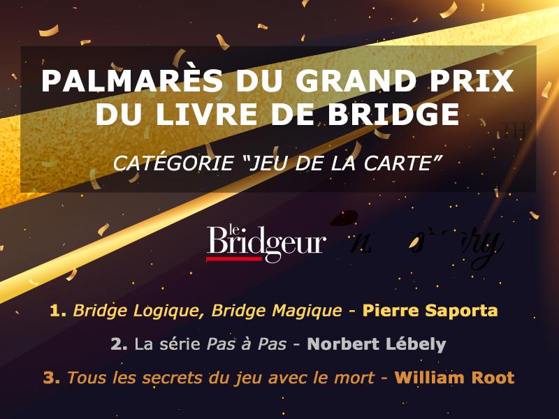 Résultats du Grand prix des lecteurs du Bridgeur